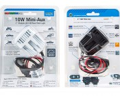 "10W Mini-Aux, 2"" Modular LED Off-Road Work Light: Front & Back Of Packaging"