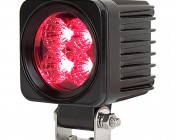 """2-1/2"""" LED Mini Auxiliary Hunting and Camping Light - Red - 207 Lumens"""