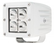 "3"" Square 12 Watt LED Boat Light:"