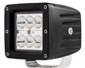 "LED Auxiliary Light - 3"" Square 18W Heavy Duty Off Road Driving Light"