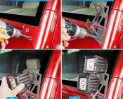 Jeep Wrangler JK Dual A-Pillar Mount Kit: How to Install Bracket to Jeep JK