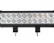 "12"" Dual Row Heavy Duty Off Road Amber LED Light Bar - 60W: Front View"