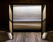 Weatherproof LED Linear Light Bar Fixture: Installed In Outdoor Bar