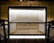 WLF series High Power LED Waterproof Light Bar Fixture: Installed Inside Outdoor Patio Bar