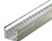 Deep Surface Mount Aluminum Profile Housing for LED Strip Lights - KLUS PDS4-ALU Series