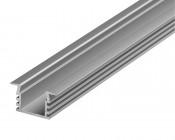 Deep Flush Mount Aluminum Profile Housing for LED Strip Lights - KLUS PDS4-K Series