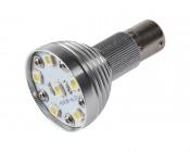 R12 LED Bulb - 6 LED 1156 Bulb - BA15S Retrofit - 175 Lumens