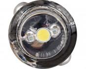 BA7s LED Bulb - 1 LED - BA7s Retrofit: Front View