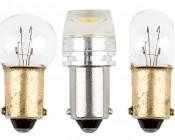 BA9s LED Bulb - 1 LED - BA9s Retrofit: Profile View