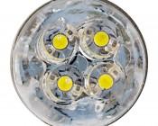 BA9s LED Bulb - 4 LED - BA9s Retrofit: Front View