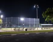 LED Corn Light - 500W Equivalent HID Conversion - E39/E40 Mogul Base: Shown Retrofitted In Baseball Field Light Towers.