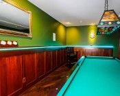 High Power RGB LED Flexible Light Strip: Installed Lining Billiards Bar