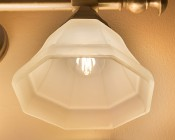 LED Filament Bulb - G16 LED Candelabra Bulb with 4 Watt Filament LED - Dimmable: Installed In Bathroom Vanity