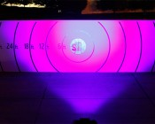 High Powered UV LED Spot Light - 54W 25 feet from target