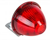 "Beehive LED Truck Trailer Light with Chrome Base - 2-1/2"" LED Marker Clearance Light with 6 LEDs"