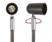 LED Display Lights/Banner Lights for MR16 LED Bulbs - Open Face - Adjustable Base