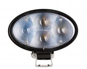 Blue LED Safety Light w/ Square Beam Pattern: Front View