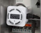 Low-Voltage Transformer - 150 Watt Multi-Tap Landscape Lighting Transformer: Plug-In Digital Timer (Part Number: BND-60/SU92) Installed