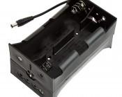 12V DC Battery Power Supply - 8 Cell D Battery Holder