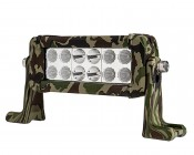"6"" Camo Off Road LED Light Bar with Spot/Flood Combo - 36W"