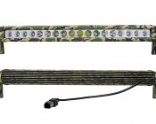 "21"" Camo Off Road LED Light Bar - 90W: Front & Back Views"