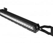 "Chevy Silverado 2500HD (11-2014) Hidden Bumper LED Light Bar Mounts - Straight 20"" Single Row LED Light Bars"