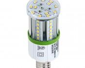 LED Corn Light - 50W Equivalent Incandescent Conversion - E26/E27 Base - 500 Lumens