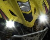 "20W Mini-Aux 4"" Dual Row LED Off Road Work Light - CREE: Close Up"