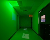 LPW-RGB6060-36: Installed In Drop Ceiling Demonstrating Magenta, Red, Blue, Gree, & White