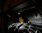 Waterproof Off Road LED Rock Light Kit - 8 LED Rock Lights - 213 Lumens: Rock Light Under Commander Illuminating Tire / Street