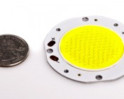Vollong 10W White High Power Planar LED size comparison