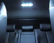 67 LED Bulb - 12 LED Forward Firing Cluster - BA15S Retrofit: Installed in Dome Lights in Back Seat