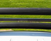"50"" Off Road Curved LED Light Bar - 288W: Top View Compared To Straight LED Light Bar"