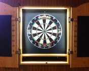 Custom Game Piece by Custom Dart Cabinets - Thanks for the photo submission!