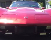 LED Daytime Running Light Set - Bottom Mount, 6W: Customers Photo Of 76' Corvette With Driving Lights.