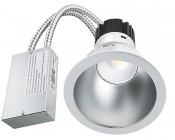 "8"" Architectural LED Retrofit Downlight - 200 Watt Equivalent: Showing Light And Power Supply."