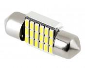 DE3022 CAN Bus LED Bulb - 18 SMD LED Festoon - 31mm