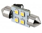 DE3175 LED Bulb - 4 SMD LED Festoon - 30mm