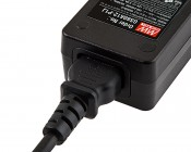 Desktop Power Supply - 12V DC GS Series: Power Plug