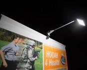 LED Display Lights/Banner Lights: Shown Mounted On Display Banner.
