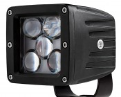 """LED Driving Light - 3"""" Square - 25W"""