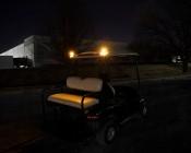 LED Hideaway Strobe Lights - Mini Emergency Vehicle LED Warning Lights w/ Built-In Controller - Surface or Flush Mount: Amber Strobes Installed