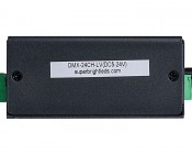 DMX-24CH-LV 24 Channel LED DMX Controller/Decoder: Side View Of Controller