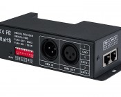 DMX-4CH-5A 5 Amp 4 Channel LED DMX Controller/Decoder