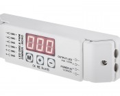 DMX Decoder for LED DMX Controllers with Address Digital Display - Single Channel, 10A