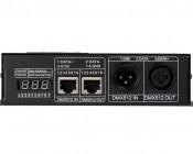 LED DMX 512 Decoder - 8 Amp 3 Channel - Digital Display: Front View