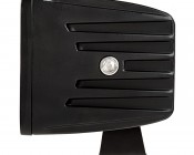 """DOT Approved LED Fog Light - 3"""" Square - 25W: Profile View"""