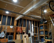"""8"""" Can Free LED Downlights - 190 Watt Equivalent - Integral Junction Box - 1,900 Lumens: Shown Installed In Garage In Natural White."""
