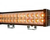 "18"" Dual Row Heavy Duty Off Road Amber LED Light Bar - 45W"