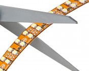 Dual Row LED Strip Lights - LED Tape Light with 72 SMDs/ft. - 1 Chip SMD LED 3528 with LC2 Connector: Scissors